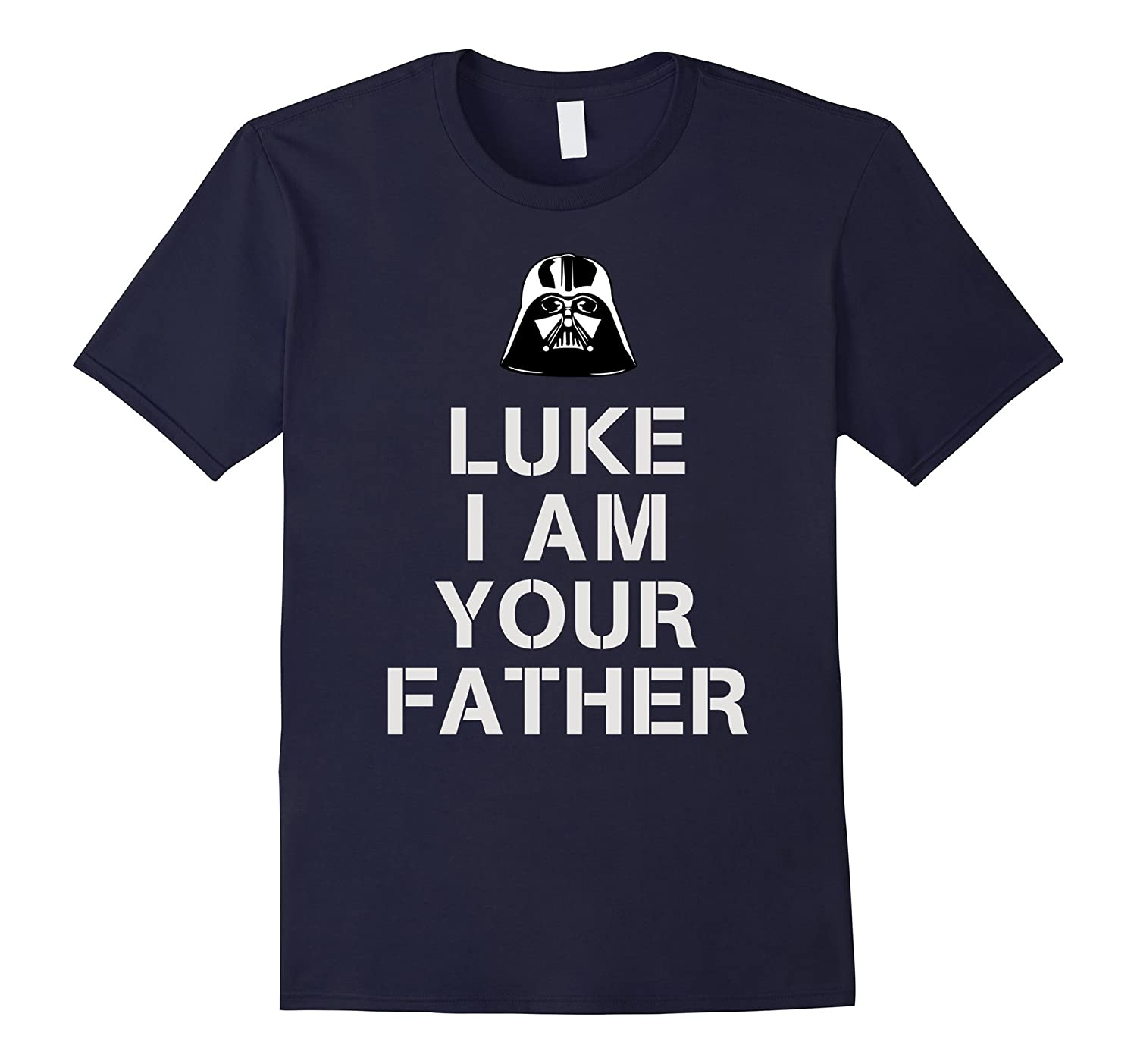 Mens Luke I Am Your Father T-shirt - 5 Color Options-TD