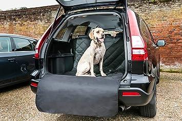 Amazon.es: Revestimiento para maletero de coche con solapa extra larga, para perros. Cubierta resistente al agua que protege tu tapicería