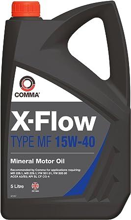 Comma Xfmf5l X Flow Type Mf 15w 40 Mineral Motoröl 5 L Auto