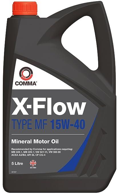 Comma XFMF5LX-Flow - Aceite Mineral de Motores Gasolina y diésel ...