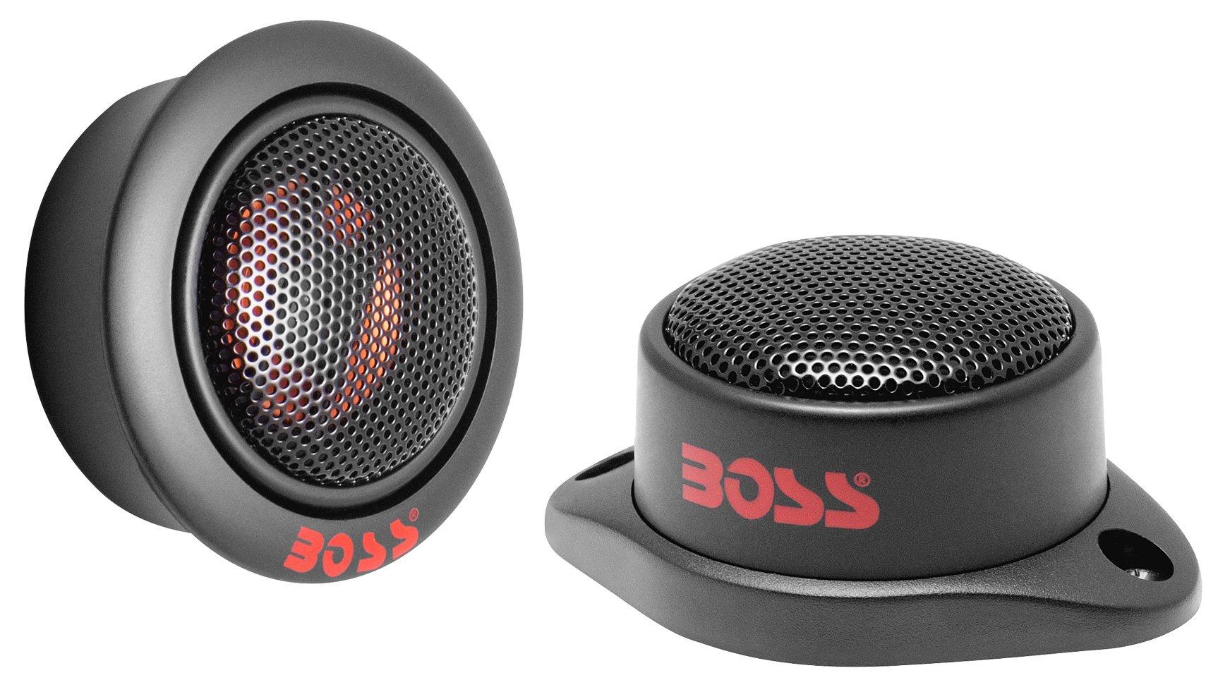 BOSS Audio TW12 200 Watt (Per Pair), 1 Inch Car Tweeters (Sold in Pairs)