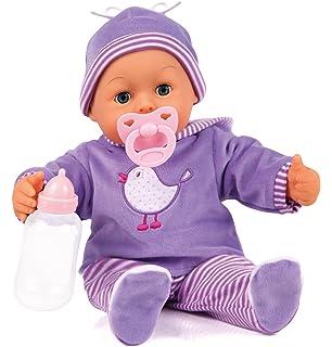 Bayer Design Kombi-Puppenwagen Grande lila TOP Babypuppen & Zubehör