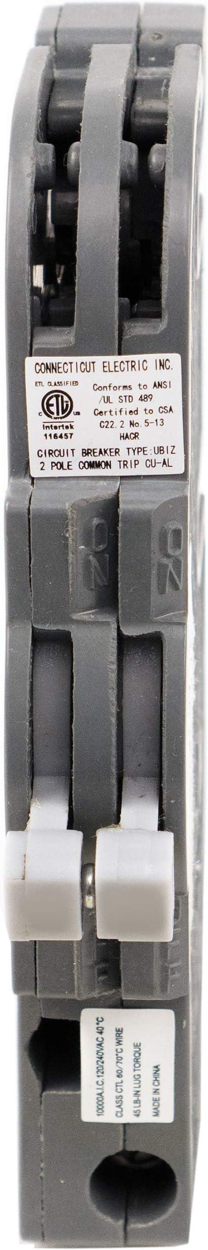 Warranty Sylvania C120 *LOT OF 5* 20 Amp 120 Volt Circuit Breaker