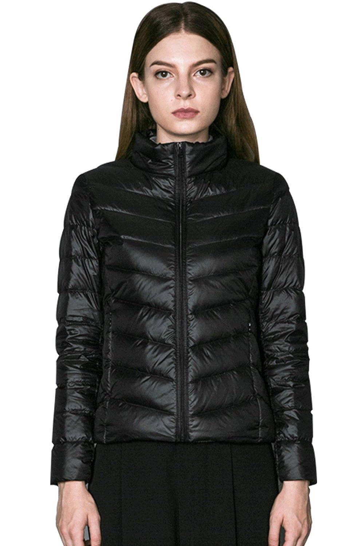 75c5963777b OANGEL Women s Packable Down Jacket Best Ultra Lightweight Short Down Coat  With 90%