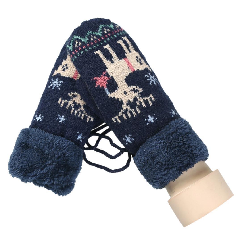 a861f2d32f Amazon.com: Hot Sale!!! Womens Kids Christmas Gloves,Jushye Full ...