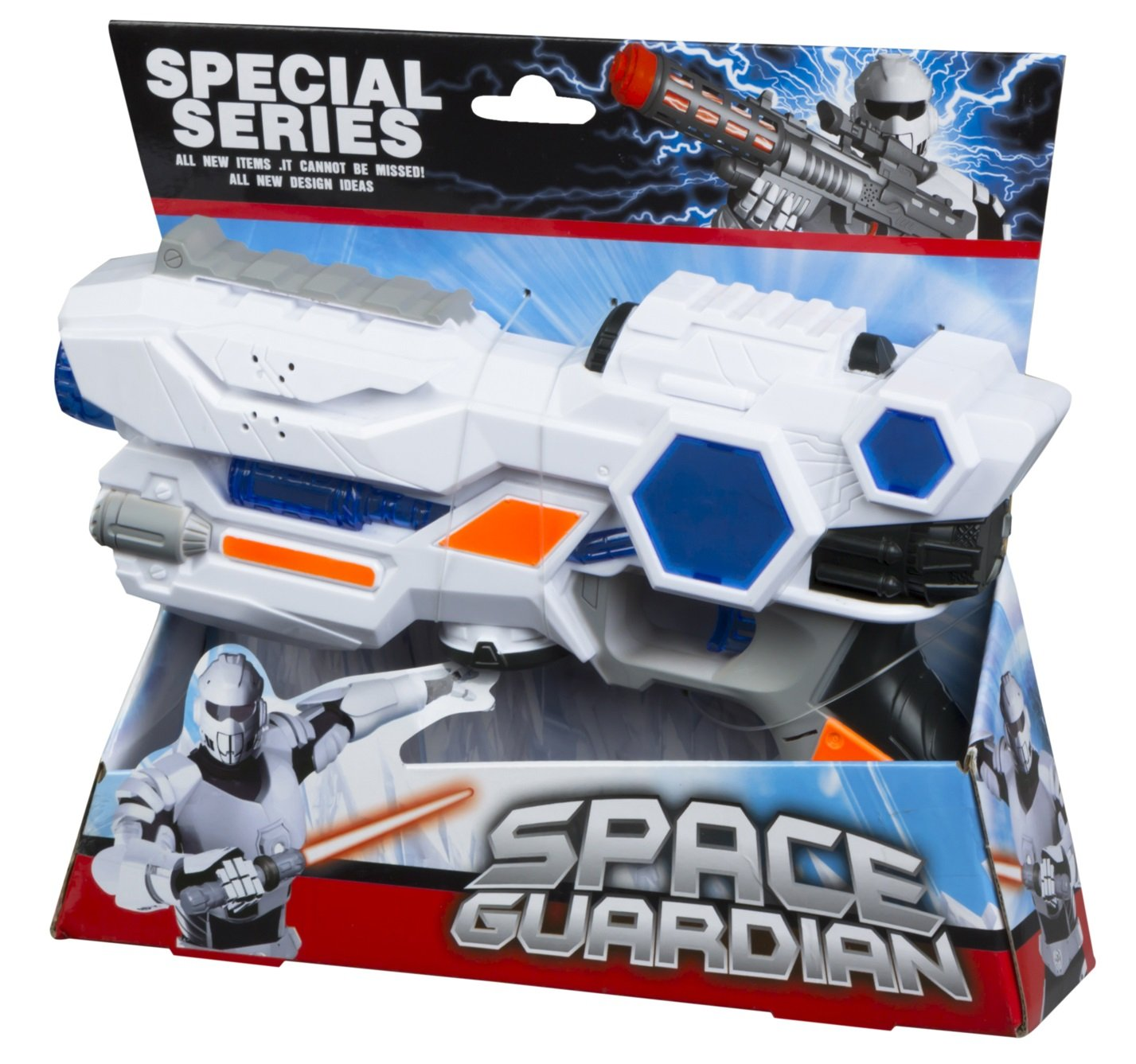 Color Baby - Pistola espacial con luz y sonidos, 24 x 5 x 22 cm (44041.0)