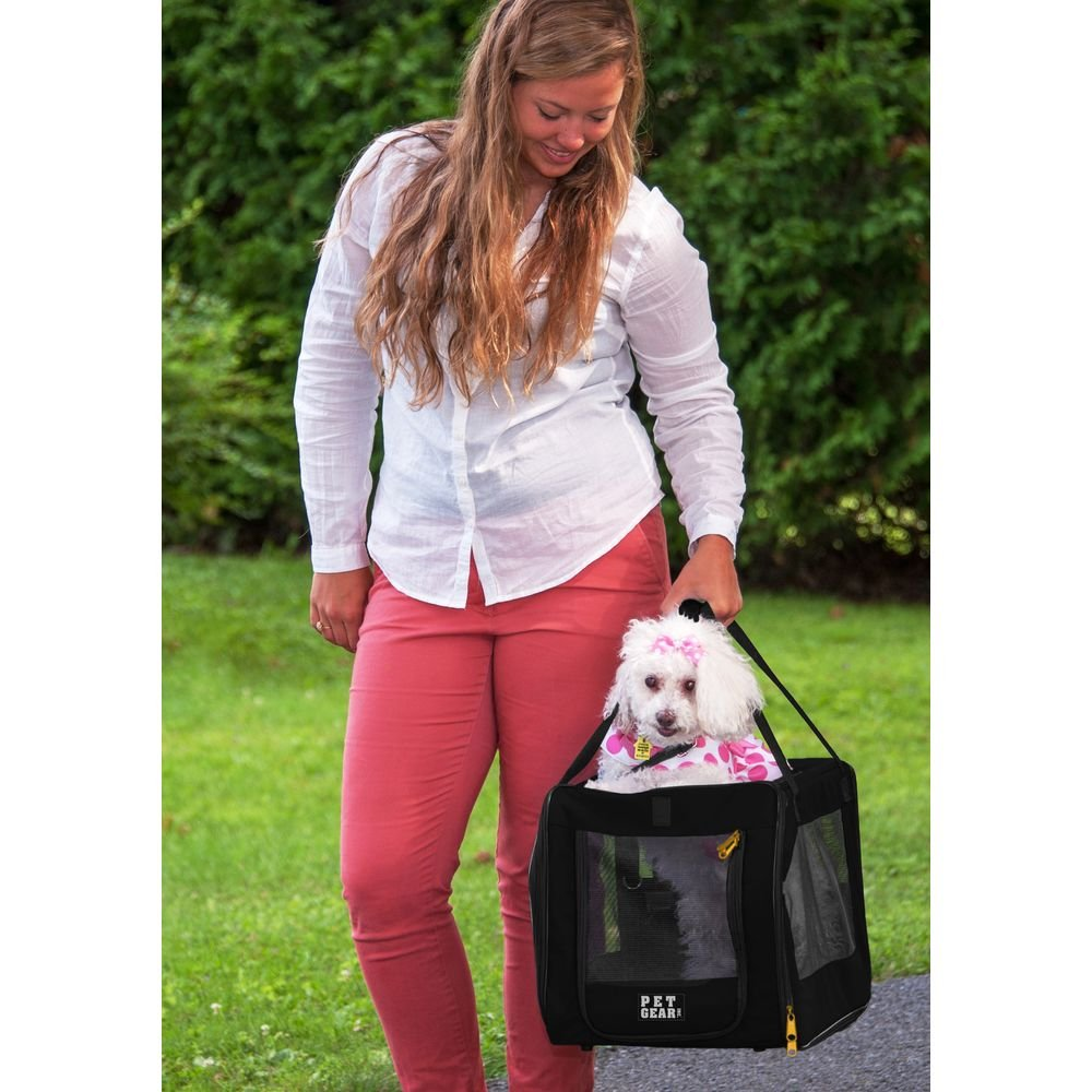 Pet Gear  Car Seat and Carrier, 20-Pound, Black