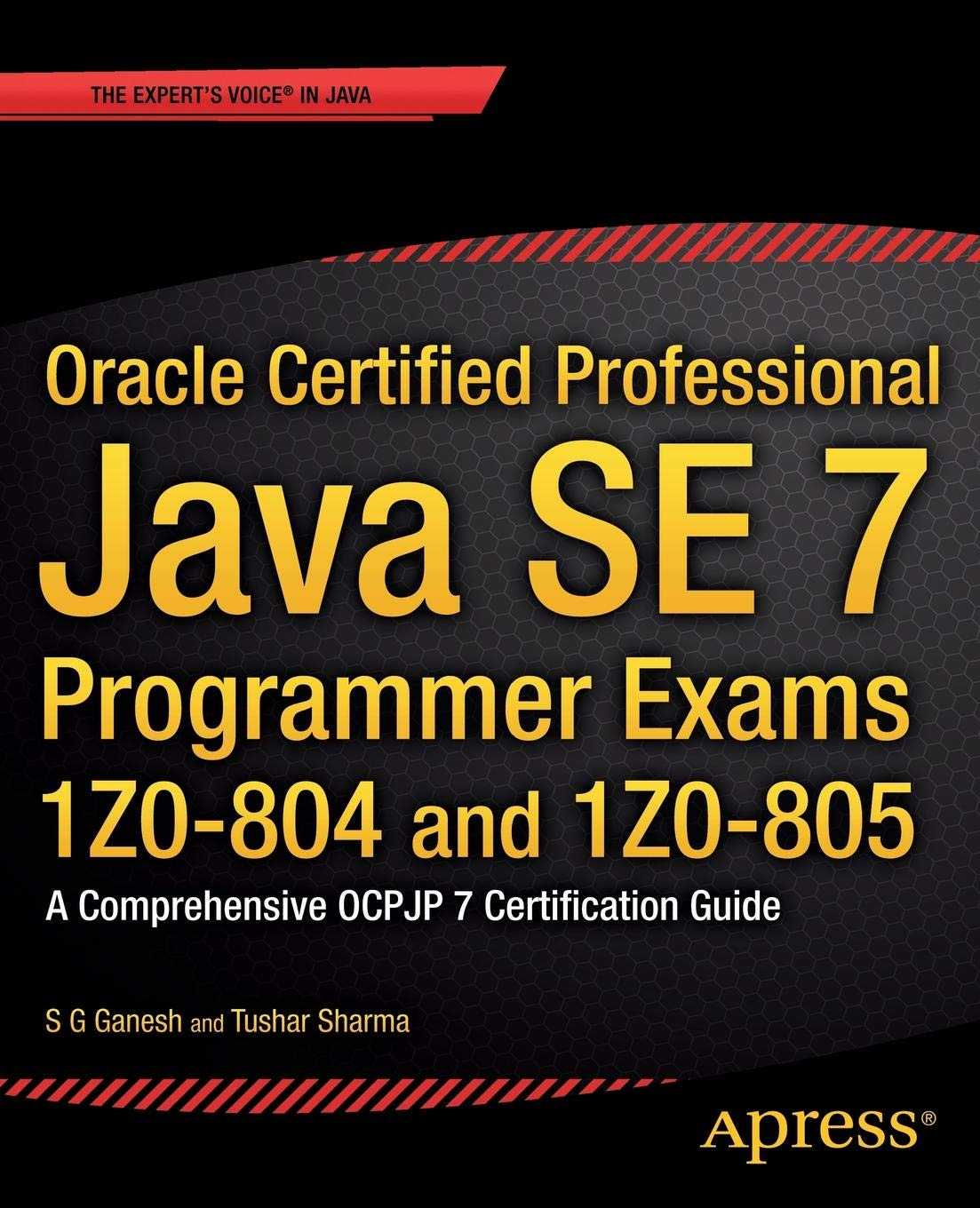 Oracle Certified Professional Java Se 7 Programmer Exams 1z0 804 And