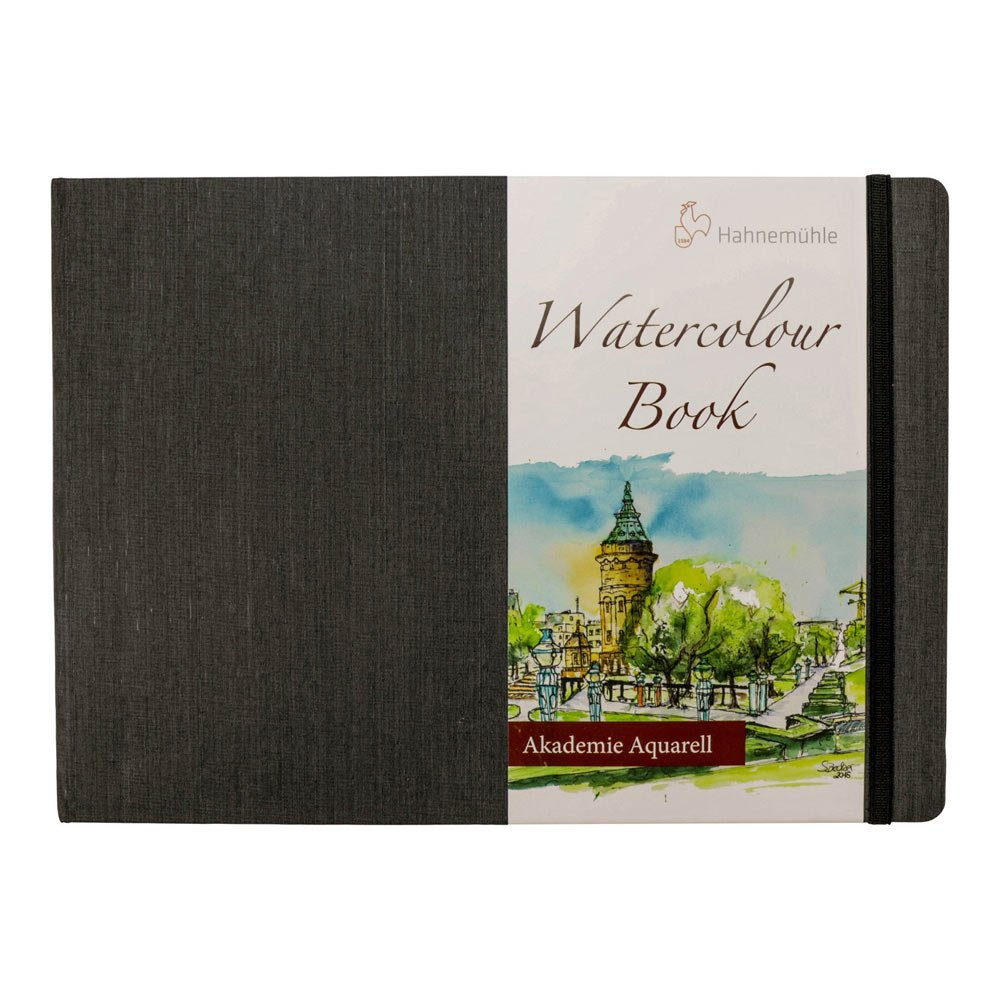 Hahnemuhle Watercolour Paper Book 200gsm 30 Fine Grain Sheets (Landscape) (A4) Hahnemuhle Fineart Gmbh 10628812