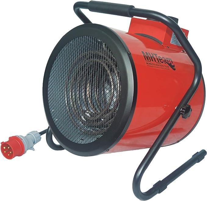 Mhteam-Eh4-09 - Calefactor profesional trifásico, 9000 W, color ...