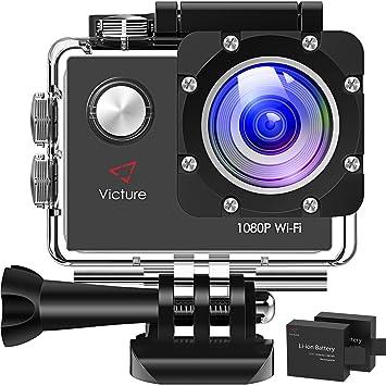 Amazon.com: Victure Cámara de acción WiFi 1080P Full HD 12 ...