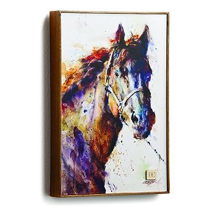 Demdaco Big Sky Carver Poncho Horse Wall Art (3005210330)