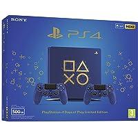 Playstation 4 (PS4) - Consola 500 Gb + 2 Mandos Dual Shock 4 Edición Dop