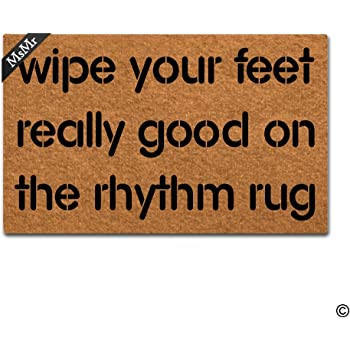 Amazon Com Ruiyida Mats Wipe Your Feet Really Good On The Rhythm