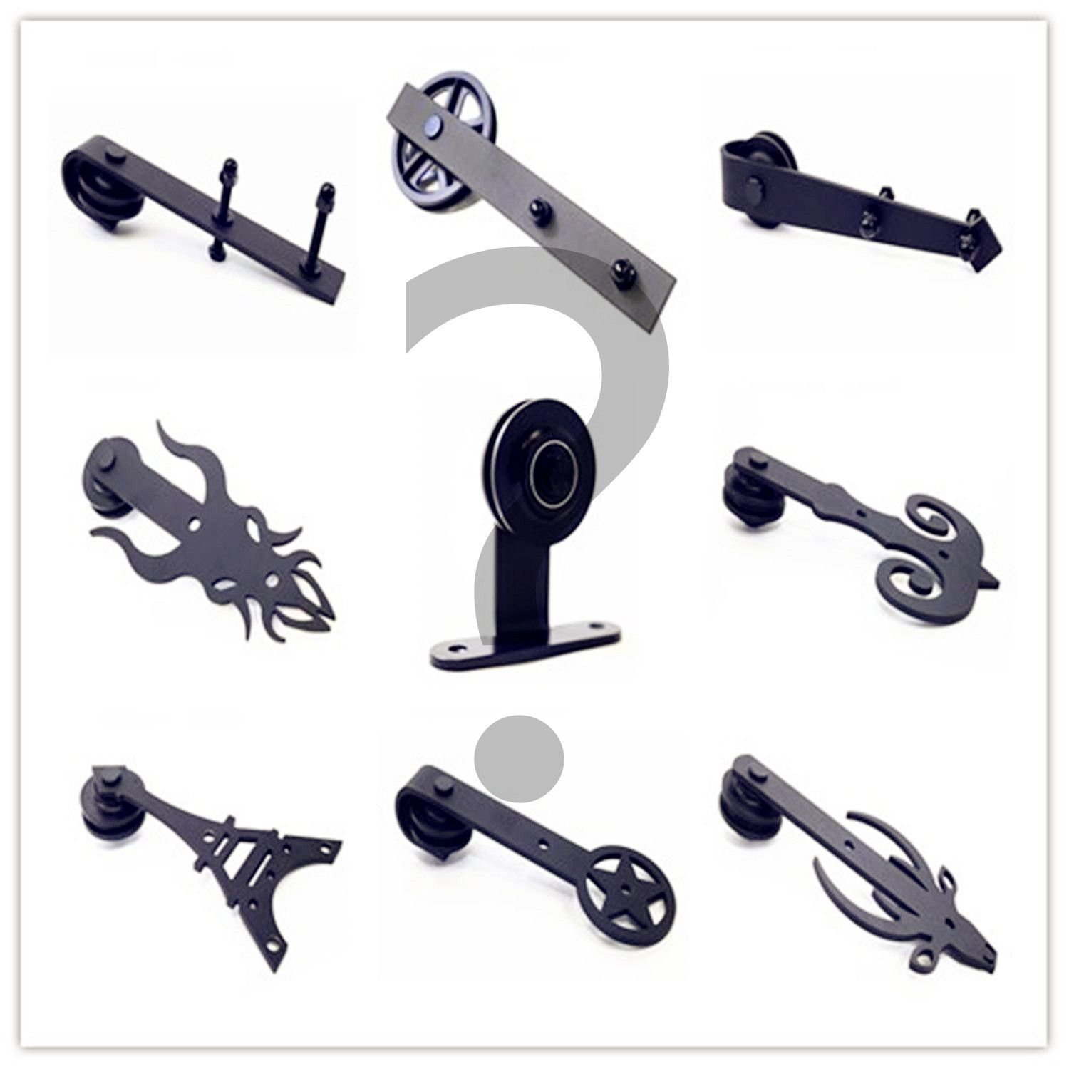HOMACER Additional Steel Hanger Set (2 Hangers, 2 Anti-Jump Pads and 1 Floor Guide)