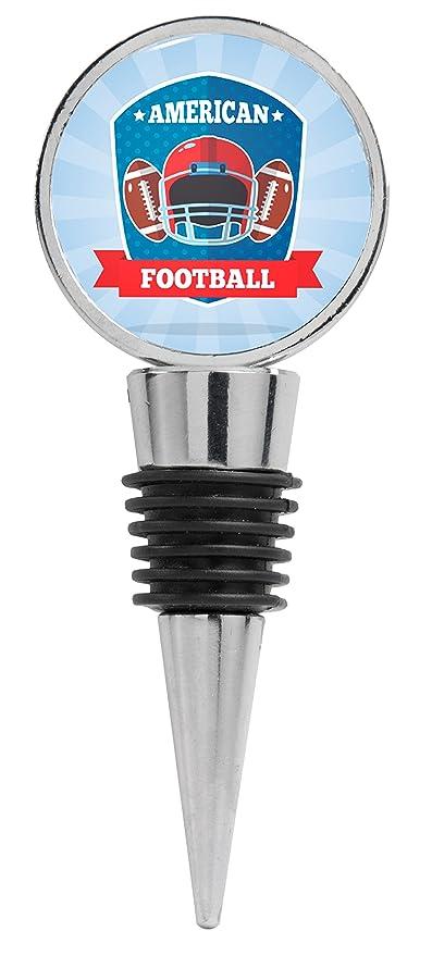 Ilustración Con Casco de fútbol americano y balones de fútbol ...