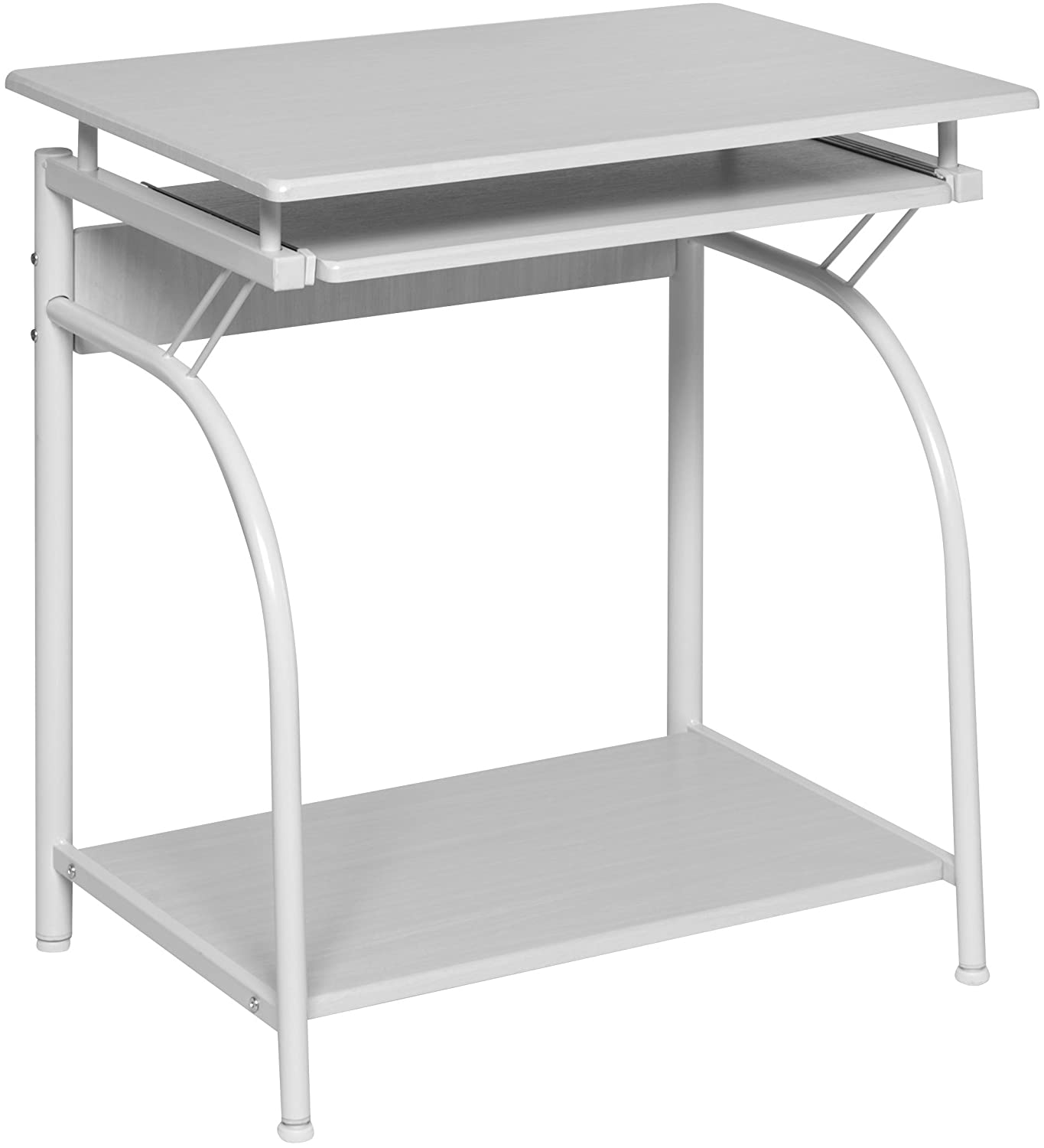 OneSpace 50-1001WO Stanton Computer Desk, White Oak