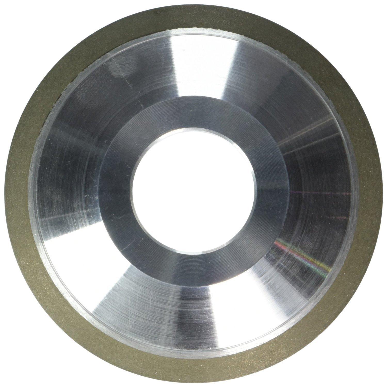 HHIP 2402-4125 4 x 1/2 x 1-1/4 x 1/8 Inch D12V9 Dish Diamond Wheel by HHIP