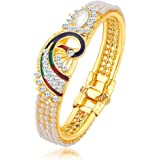 Sukkhi Kadaa Bracelet for Women (Golden) (12121KADS650)