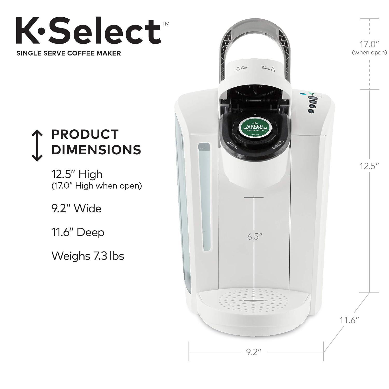 Amazon.com: Keurig K-Select – Cafetera de café con control ...
