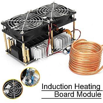 2000W ZVS Heater Driver Board Module,Flyback Driver Heater Tesla Coil /& Fan
