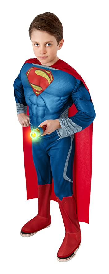 Rubies Superman Man of Steel Flashlight Kit  sc 1 st  Amazon.com & Amazon.com: Rubies Superman Man of Steel Flashlight Kit: Toys u0026 Games
