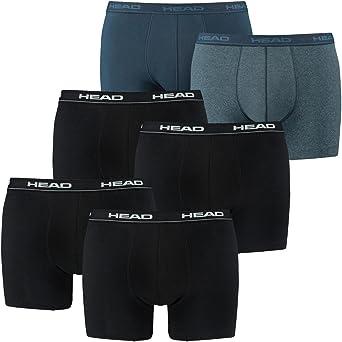 Head Herren Unterhose Short Boxer Pants 4er Pack Blue Black Blau S M L XL NEU