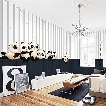 Godess4 niedlichen panda cartoon tapete mural junge mädchen kind ...