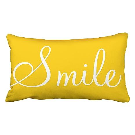 Amazon.com: TAROLO decorativos Sonrisa Sunshine amarillo ...