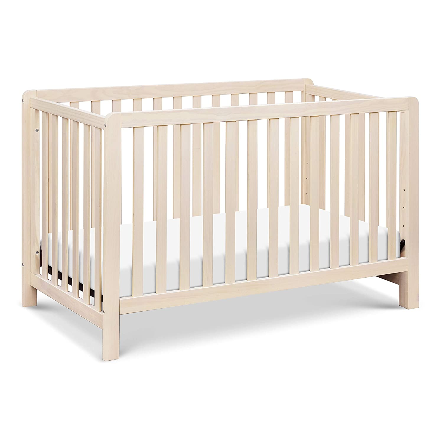 Carter s by DaVinci Colby 4-in-1 Low-Profile Convertible Crib in Washed Natural Greenguard Gold Certified