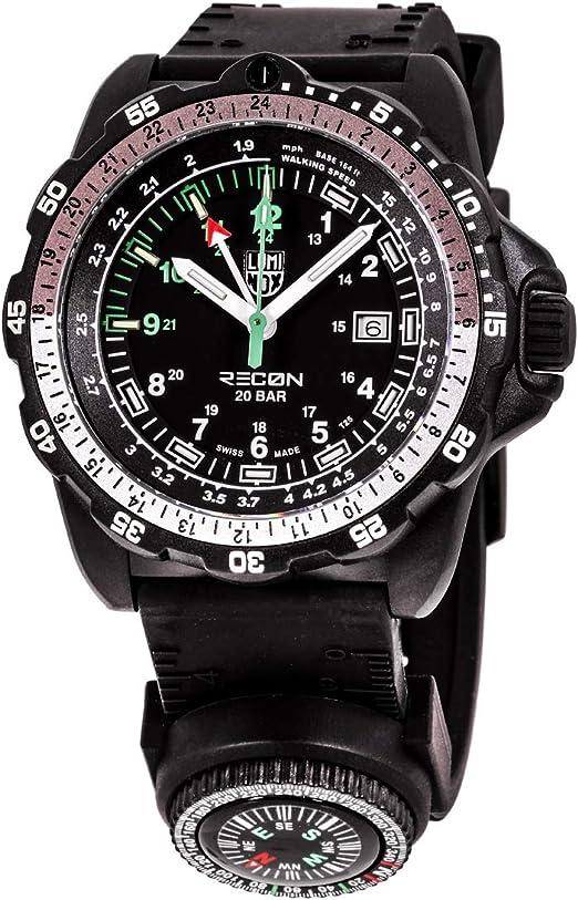 Amazon.com: Luminox Recon Pointman Quartz Movement Black Dial Men's Watch  XL.8832.MI: Watches