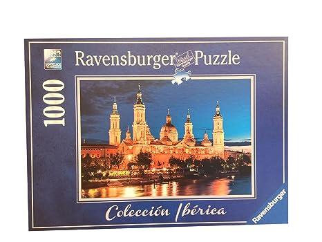 Pack Puzzle Ravensburger 88585. Basilica del Pilar. Zaragoza ...