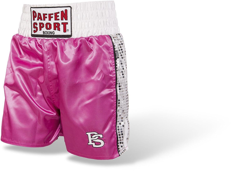 Paffen Sport LADY GLORY Boxing Short - Boxerhose für Damen im Seiden-Look