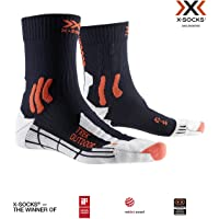 X-Socks Trek Outdoor Socks, Unisex Adulto, Midnight Blue/kurkuma