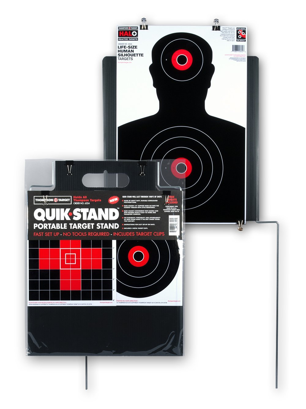 Quick Stand - Portable Outdoor Target Stand for Shooting by Thompson Target (Image #1)