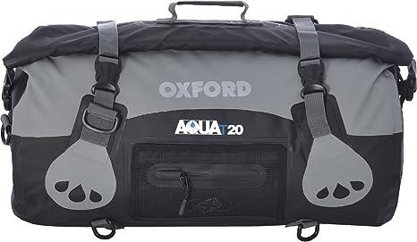 20 Litre Noir Oxford Aqua T-20 Imperm/éable Rouleau Sac 20L