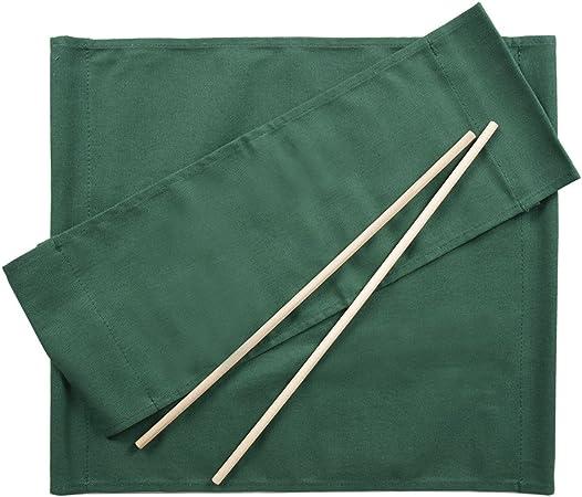 ArredaSì Ricambi per Sedia Regista [Set di 2] Cotone Verde