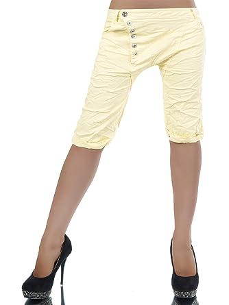 L328 Damen Capri Jeans Hose Shorts Caprijeans Bermuda Boyfriend Bermudas   Amazon.de  Bekleidung 68eba95fed