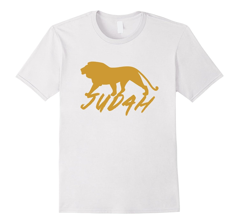 Gold Tribe Of Judah T-shirt Hebrew Israelites Yeshua Yahshua
