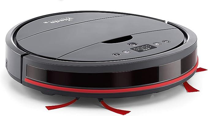 Vileda – Robot aspirateur VR201 PetPro – Spécial poils d