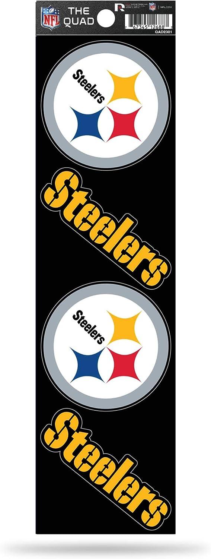 Rico Industries NFL Die Cut 4-Piece The Quad Sticker Sheet