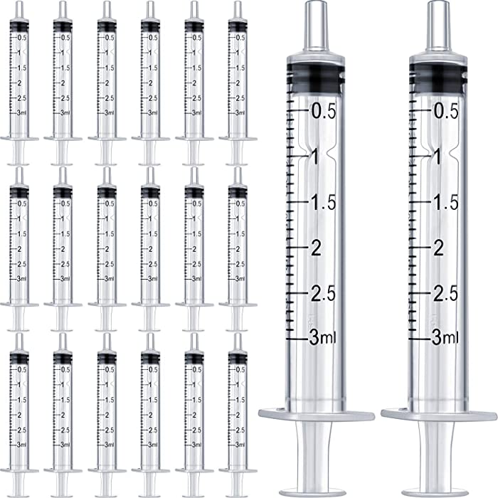 Top 8 Miracle Nipple 3Ml Luer Lock Syringe