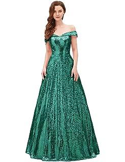 YIRENWANSHA 2019 Off Shoulder Prom Dress for Women Long Sequin Manual Beaded  Formal Gown SHPD41 4ab9764c7