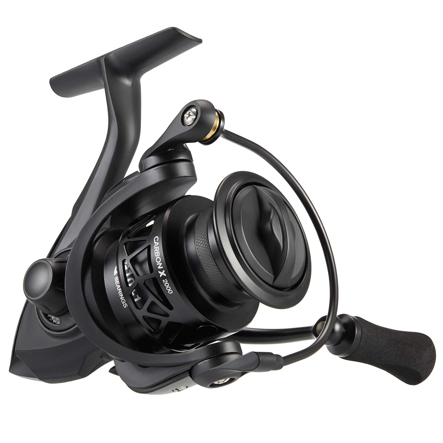 Piscifun Carbon X Spinning Reels - Light to 5.7oz, 5.2:1-6.2:1 High Speed Gear Ratio, Carbon Frame and Rotor, 10+1 Shielded BB, Smooth Powerful Freshwater