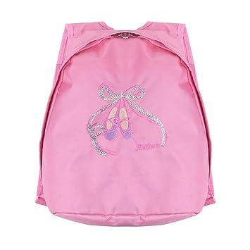 iiniim Girl Ballet Dancing Bag Ballerina Backpack Shiny Sequins Toe Shoes  Shoulder Bag Gymnastics Ballet Dress 16756a229c746
