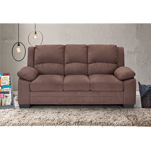 Superbe Royaloak Magna Three Seater Sectional Sofa (Brown)
