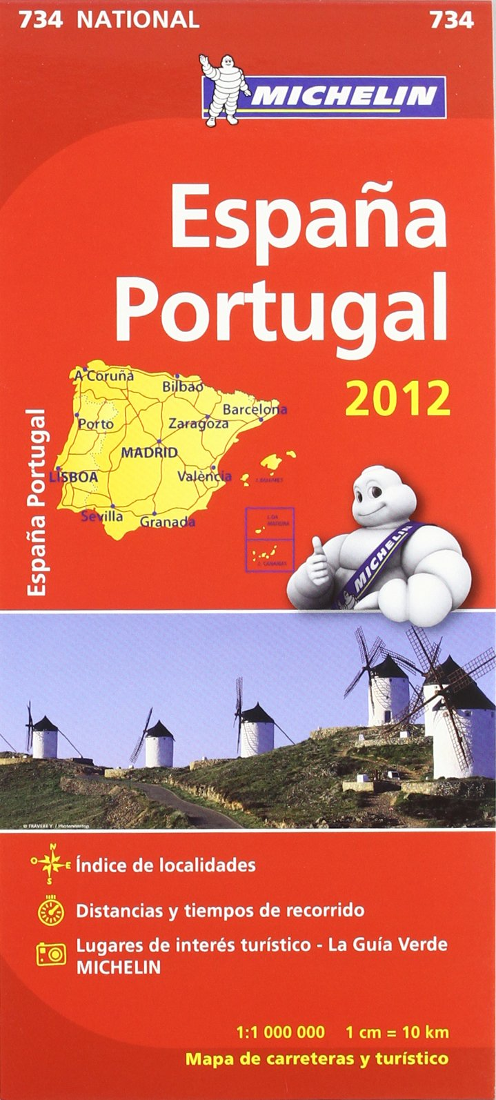 Mapa National España Portugal 2012: Amazon.es: VV.AA.: Libros