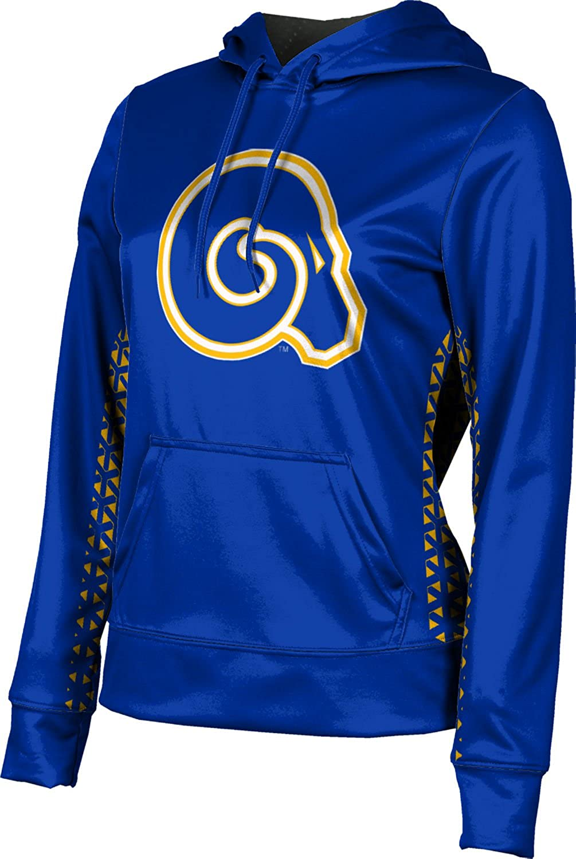 ProSphere Albany State University Girls Pullover Hoodie School Spirit Sweatshirt Geometric