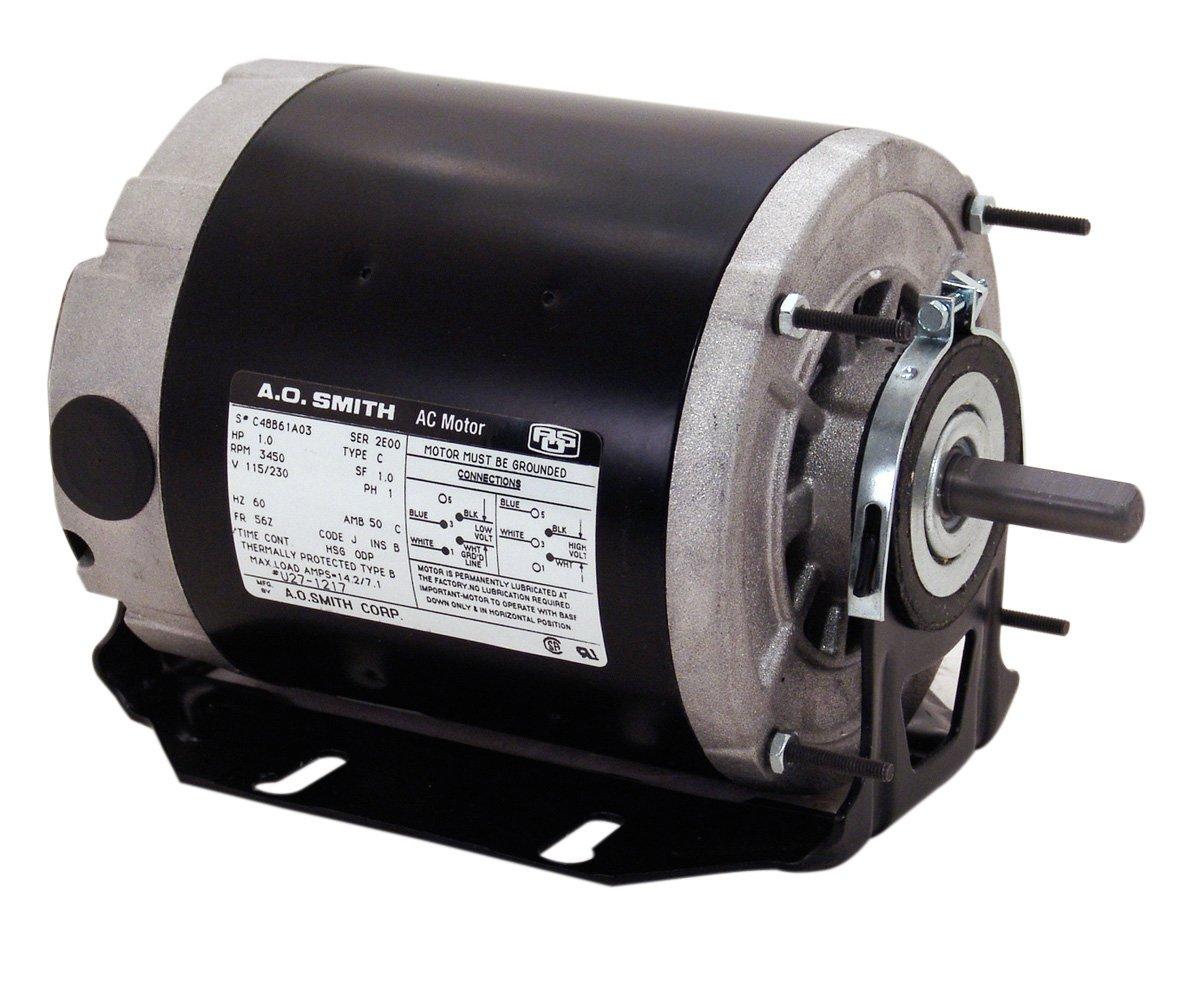 A.O. Smith SGF2054AV2 1/2-1/6 hp, 1725/1140 RPM, 115 volts, 56Z ...