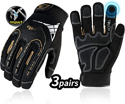 3 PAIRS of Mechanix high abrassion gloves SALE